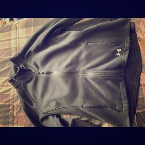 Women's underarmour jacket/zip up sweatshirt
